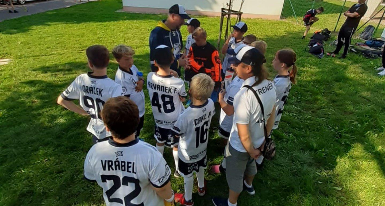 Mladší žáci Wolves se představili na Junior Sokol Cupu